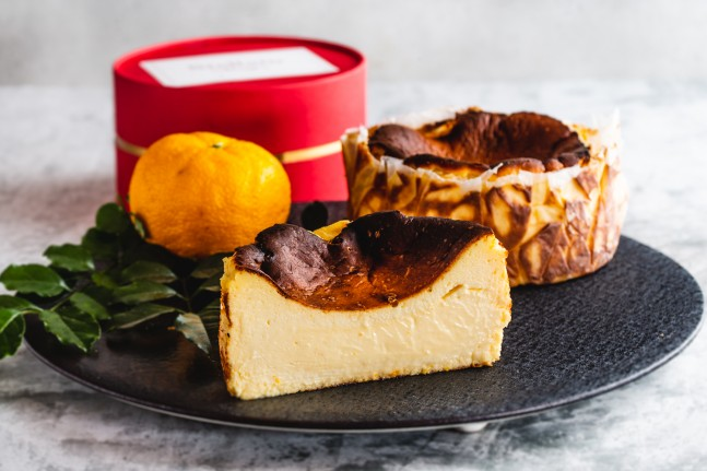 【ステラート】期間限定!柚子のバスクチーズケーキ、販売開始!1/3~